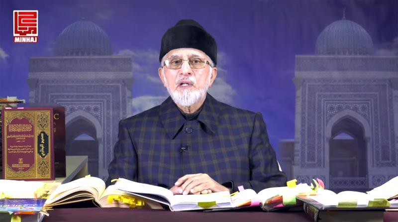 ڈاکٹر طاہرالقادری نے عید کی چھٹیوں میں بھی آن لائن لیکچرز کا سلسلہ جاری رکھا