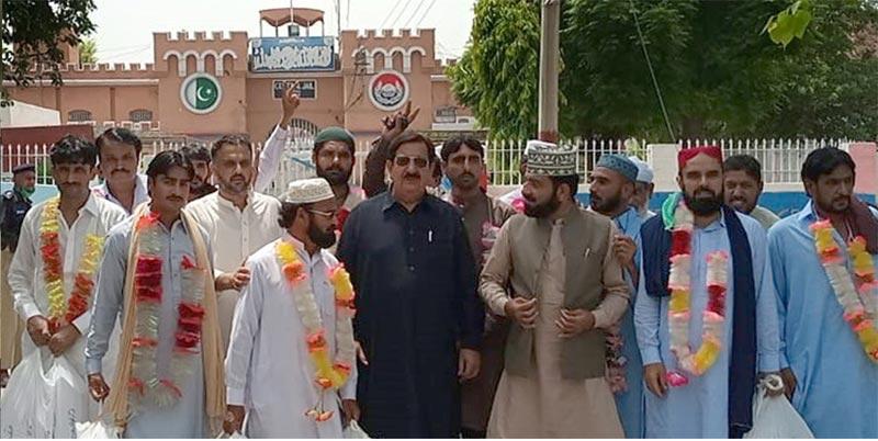 عوامی تحریک کے 93 کارکنان بھکر، شیخوپورہ، شاہ پور، میانوالی جیلوں سے رہا