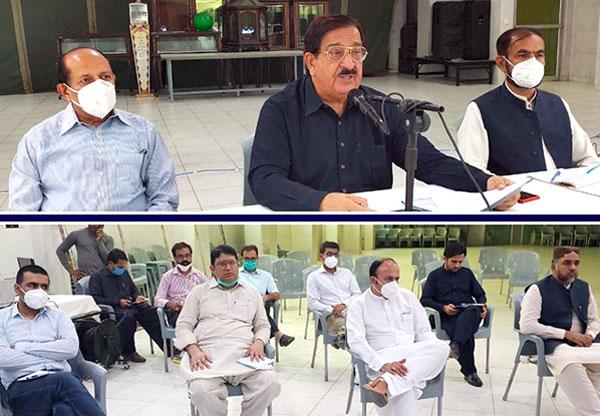 تحریک منہاج القرآن کی سنٹرل کوآرڈی نیشن کونسل کا ناظم اعلیٰ خرم نواز گنڈاپور کی زیر صدارت اجلاس