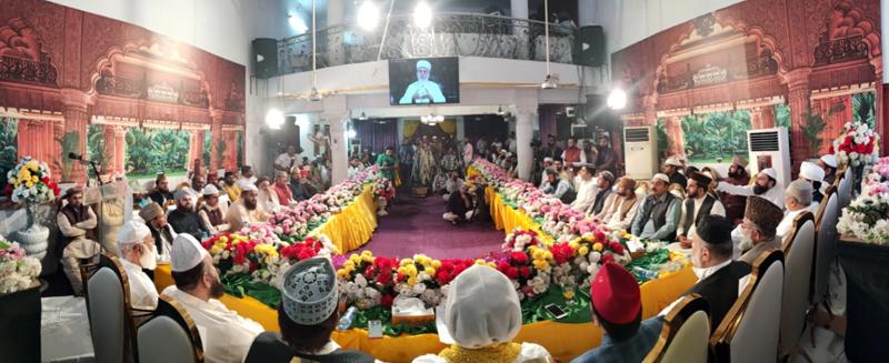 """شیخ الاسلام کا """"عقیدہ اہلسنت اور مقام سیدہ کائنات سلام اللہ علیہا و شان صدیق  اکبر رضی اللہ عنہ کانفرنس"""" سے خطاب"""