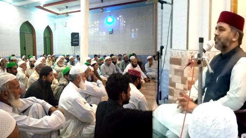 باہتر (ضلع اٹک): منہاج القرآن کے زیراہتمام پیغام امام حسین علیہ السلام کانفرنس