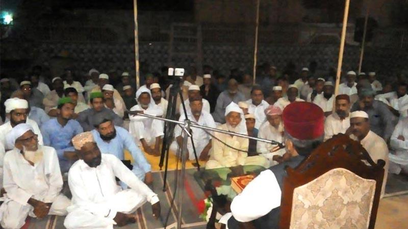 گاؤں غریب وال ( P D khan ضلع جہلم): منہاج القرآن کے زیراہتمام ذکر حسین اور فکر حسین کانفرنس