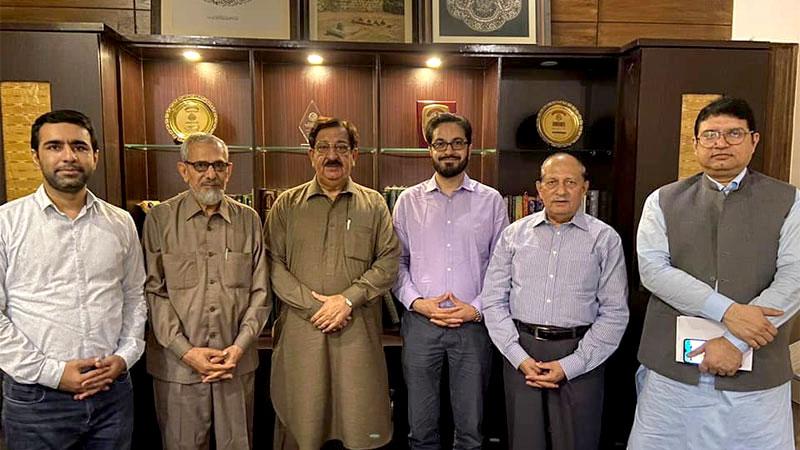 منہاج القرآن انٹرنیشنل برطانیہ کے سینئر رہنما شاہد مرسلین کا منہاج القرآن کے مرکزی سیکرٹریٹ لاہور کا دورہ