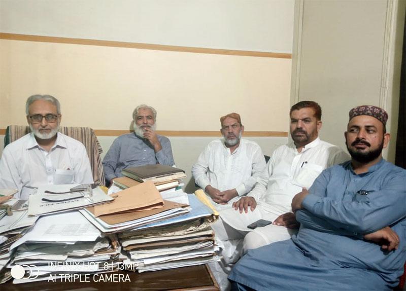 تحریک منہاج القرآن ضلع گوجرانوالہ کی کوآرڈینیشن کونسل کا اہم مشاورتی اجلاس