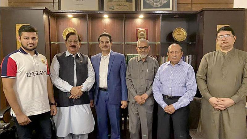 Senior MQI Canada leader Zahid Siraj visits central secretariat