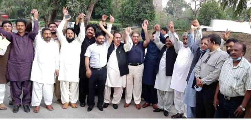 ووٹرز کی قوت لاہور بزنس مین فرنٹ کیساتھ ہے، عوامی تاجر اتحاد