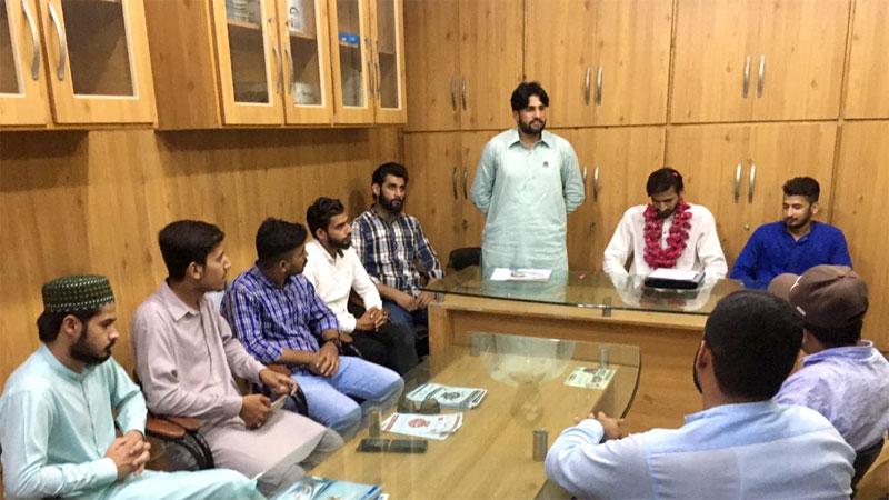 مصطفوی سٹوڈنٹس موومنٹ ضلع سیالکوٹ کے ذمہ داران کا اجلاس