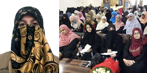 Dr. Ghazala Hassan Qadri addresses Al-Tarbiyah session