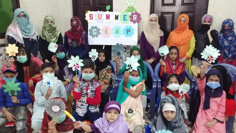 جہلم: منہاج ویمن لیگ کے ذیلی فورم ایگرز کے زیراہتمام 7 روزہ سمر کیمپ کا انعقاد