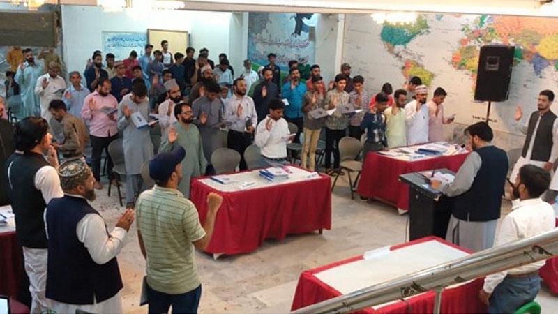 منہاج القرآن یوتھ لیگ کراچی کا سالانہ یوتھ اسمبلی کا اجلاس، مرکزی صدر کی شرکت