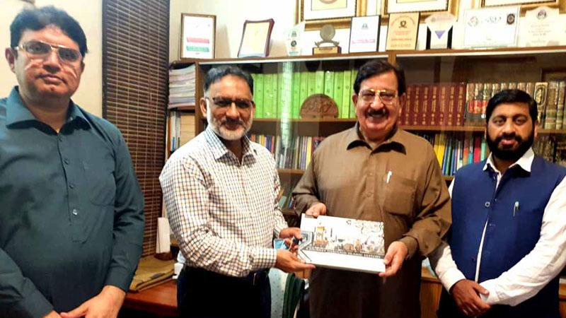 JI's Deputy Secretary General calls on Khurram Nawaz Gandapur