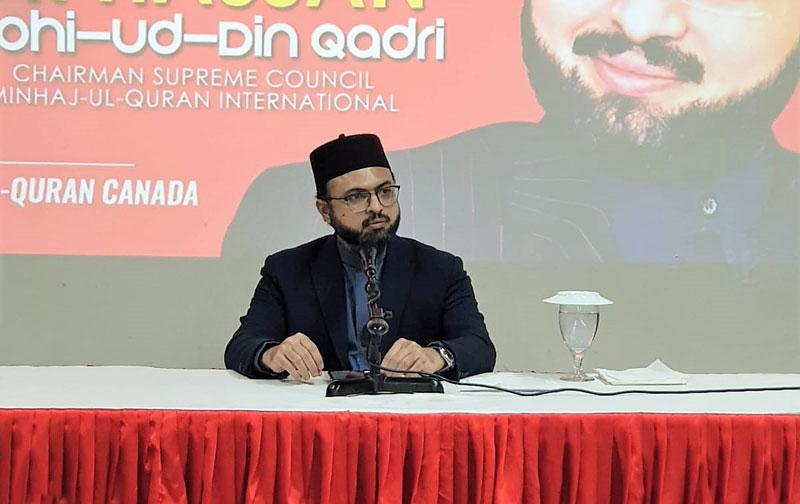 Canada: Dr Hassan Mohi-ud-Din Qadri visits MQI Centre
