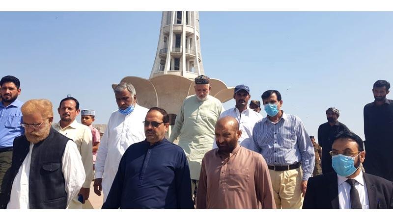 منہاج القرآن کے مرکزی رہنما جواد حامد کا مینار پاکستان کا دورہ