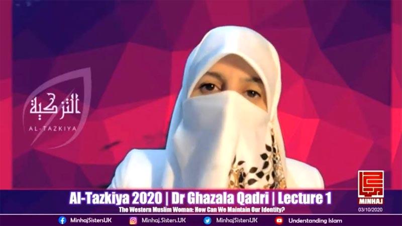 Al-Tazkiya 2020: Dr Ghazala Hassan Qadri delivers 1st lecture