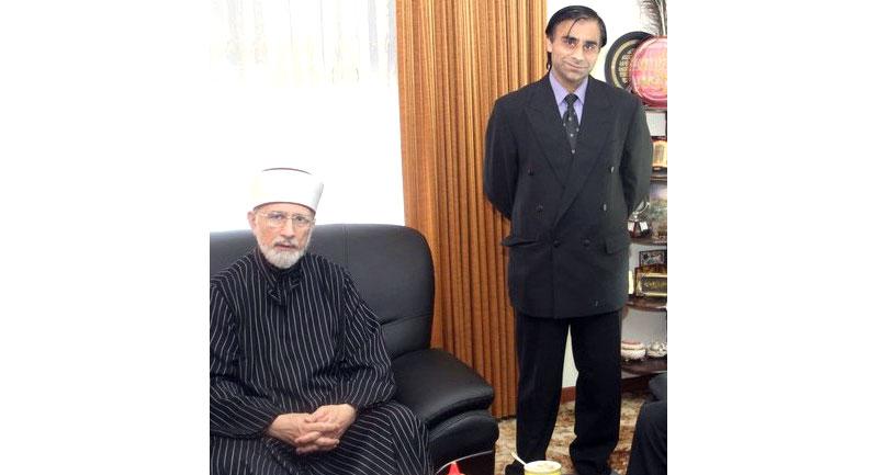 شیخ الاسلام کا صابر حسین بلوچ کے بڑے بھائی کے انتقال پر اظہار افسوس