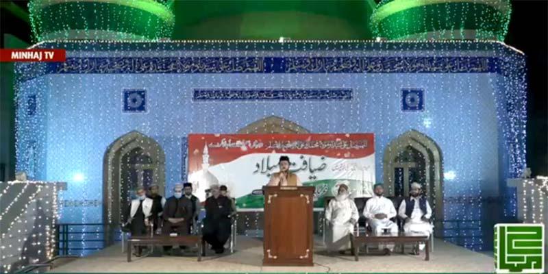 تحریک منہاج القرآن کے مرکزی سیکرٹریٹ پر ضیافت میلاد کا آغاز