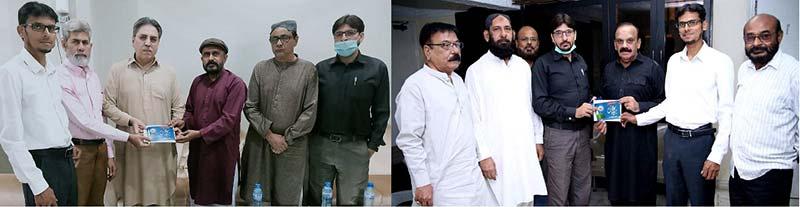 منہاج القرآن کراچی کی مختلف جماعتوں کے قائدین کو میلاد کانفرنس میں شرکت کی دعوت