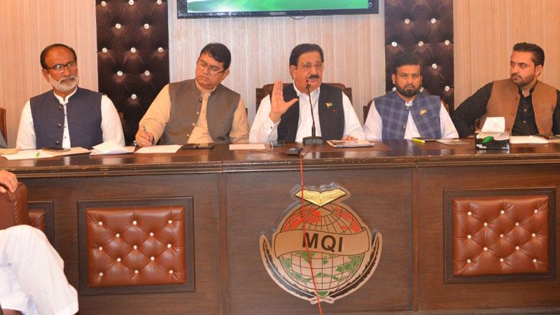 عوامی تحریک کی سنٹرل ایگزیکٹو کونسل کا اجلاس، 13 نکاتی منشور کا اعلان، بلدیاتی الیکشن جلد کروانے کا مطالبہ
