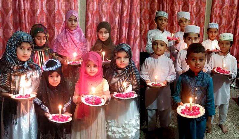 جہلم میں ایگرز کے زیراہتمام بچوں کی میلاد مصروفیات