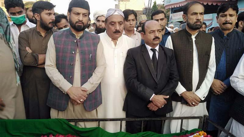 سانحہ ماڈل ٹاون کے زخمی و اسیر صوفی محمد طفیل ڈار کی نماز جنازہ