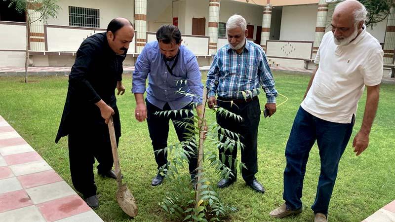 منہاج ویلفیئر فاؤنڈیشن یوکے کے ڈائریکٹر فیصل مشہدی کا آغوش کراچی کا دورہ