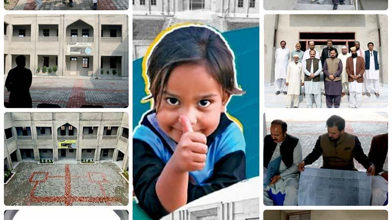 منہاج ویلفیئر فاؤنڈیشن یوکے کے ڈائریکٹر فیصل مشہدی کا منہاج ایجوکیشنل کمپلیکس خانیوال کا دورہ