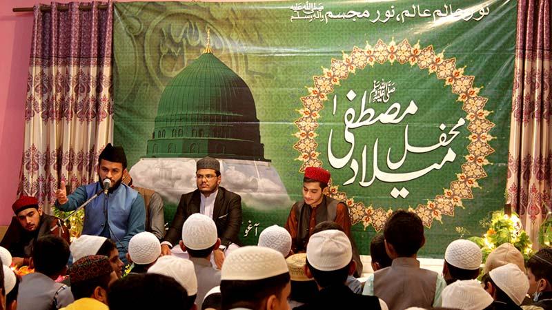 آغوش آرفن کیئر ہوم کے زیراہتمام محفل میلاد مصطفی ﷺ