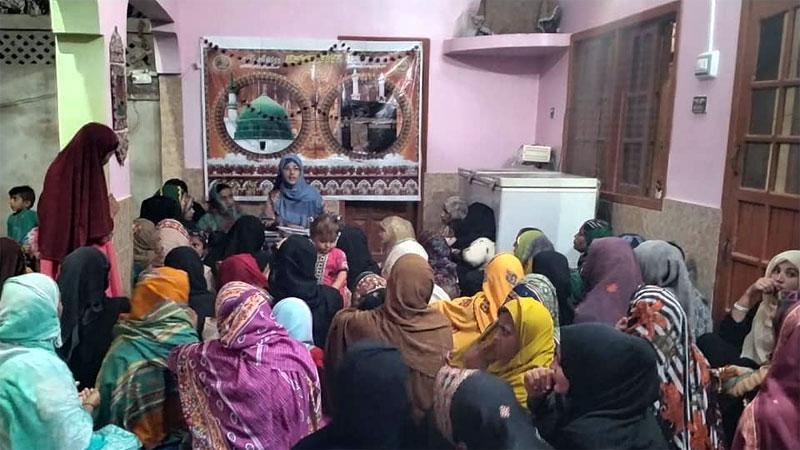 Matli (Sindh): MWL holds Mahfil-e-Milad