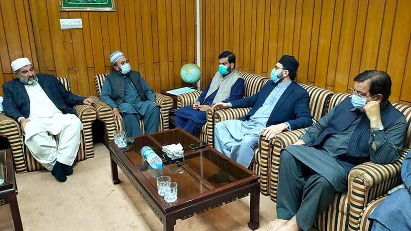 منہاج القرآن ہزارہ ڈویژن کے وفد کی چیئرمین سپریم کونسل ڈاکٹر حسن محی الدین قادری سے ملاقات