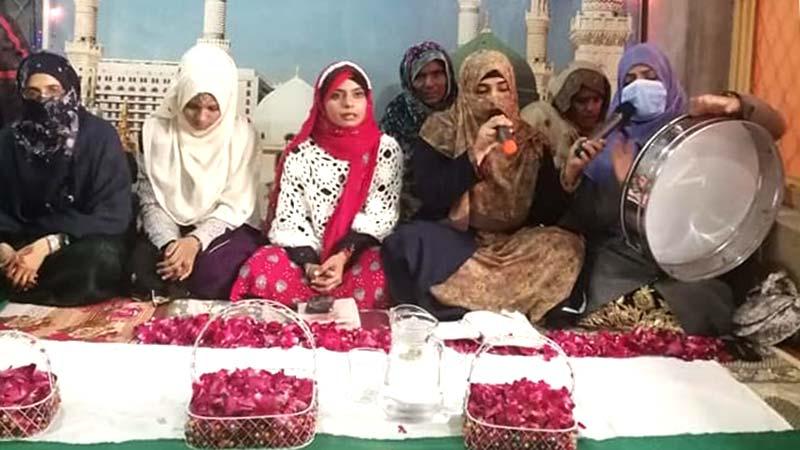 منہاج القرآن ویمن لیگ جہلم کے زیراہتمام محفل میلاد کا انعقاد
