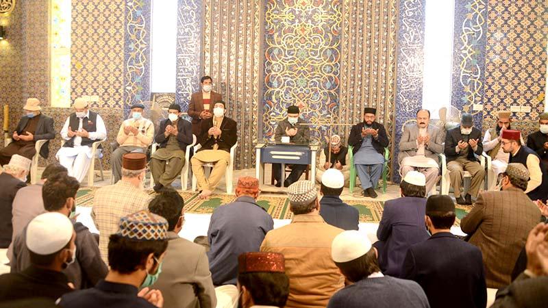 مرکزی قائدین کے مرحومین کے لیے قرآن خوانی و دعائیہ تقریب