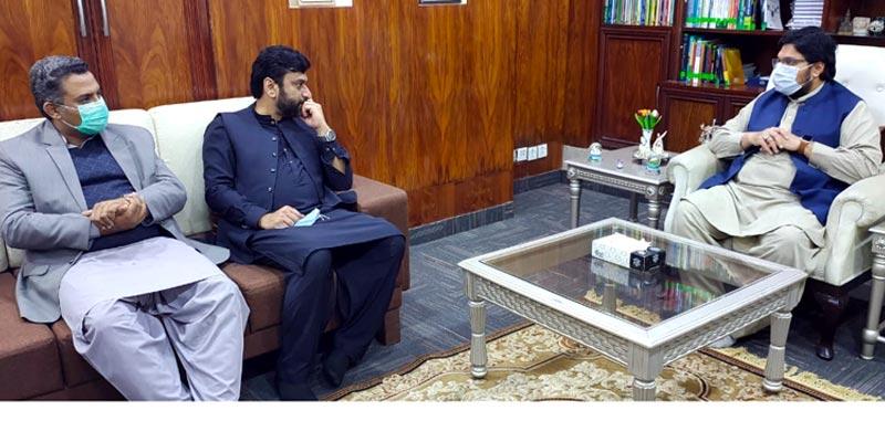 چیئرمین پی ایچ اے سید یاسر گیلانی کا منہاج یونیورسٹی لاہور کا دورہ