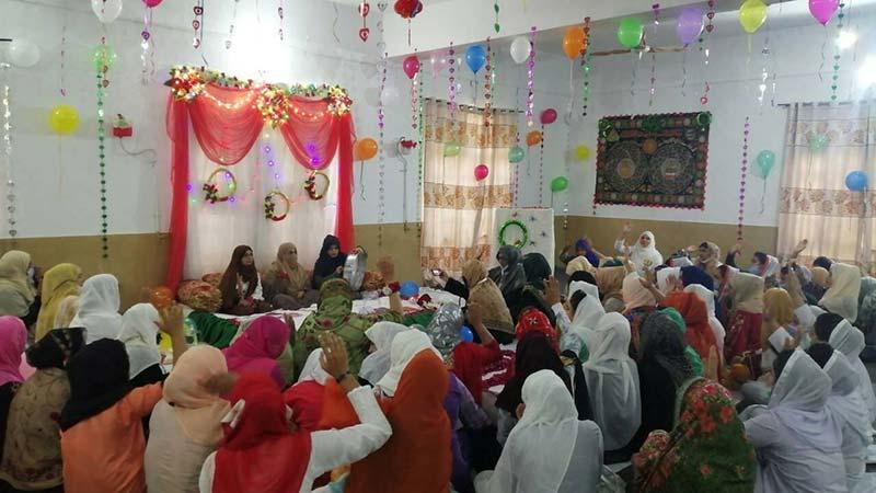 Jhelum: Mawlid-un-Nabi (pbuh) held under the banner of MSM-Sisters