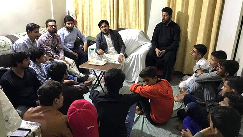 مصطفوی سٹوڈنٹس موومنٹ کراچی کا اجلاس