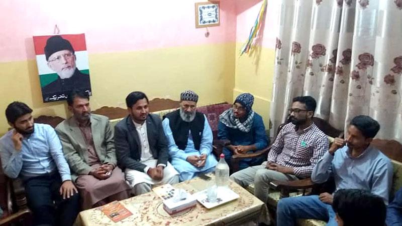 مصطفوی سٹوڈنٹس موومنٹ شاہ فیصل ٹاؤن کراچی کا اجلاس