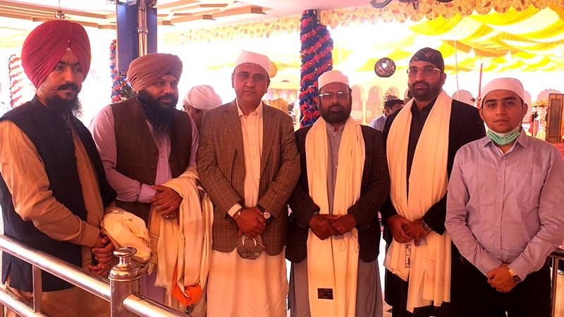 Sohail Raza attends the birthday celebrations of Baba Guru Nanak