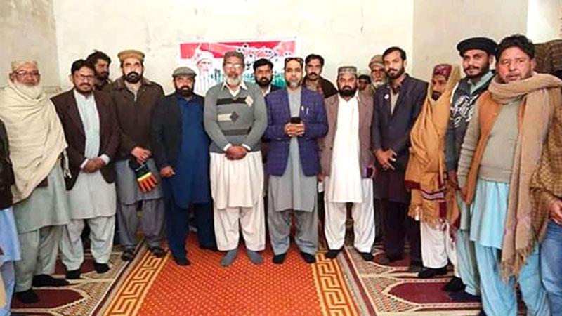 سرگودھا: علامہ رانا محمد ادریس قادری کی تنظیمی اجلاس میں شرکت