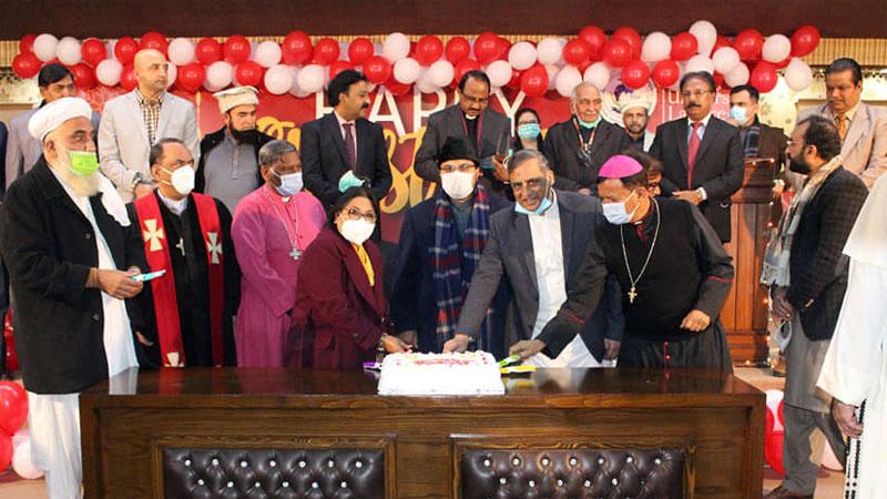 منہاج یونیورسٹی لاہور اور انٹرفیتھ ریلیشنز کے زیراہتمام کرسمس تقریب