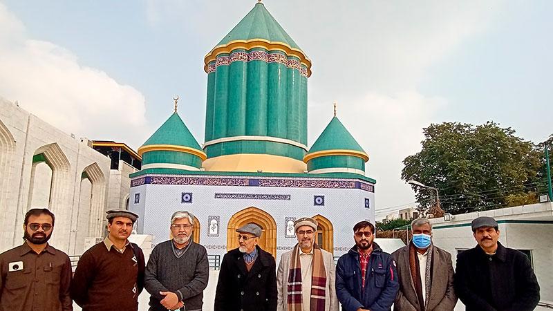منہاج القرآن انٹرنیشنل نارتھ یوکے کے صدر سیرت علی خان کا مرکزی سیکرٹریٹ کا دورہ