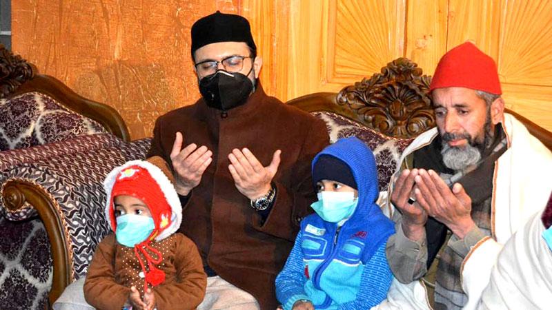 ہری پور: ڈاکٹر حسن محی الدین قادری کی منہاج القرآن کے رفیق مقتول سجاول خان مصطفوی کے اہلخانہ سے تعزیت