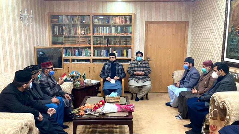 منہاج القرآن انٹرنیشنل کی نظامتِ دعوت کے سکالرز کی ڈاکٹر حسن محی الدین قادری  سے ملاقات