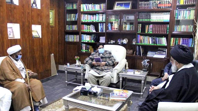 علامہ سید جواد نقوی کا منہاج یونیورسٹی لاہور کا دورہ اور ڈاکٹر حسین محی الدین  قادری سے ملاقات