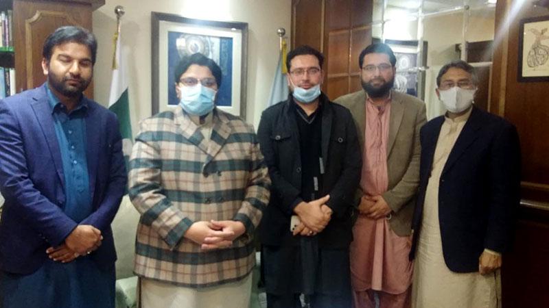 منہاج القرآن انٹرنیشنل جاپان کے وفد کا مرکزی سیکرٹریٹ کا دورہ اور ڈاکٹر حسین محی الدین قادری سے ملاقات