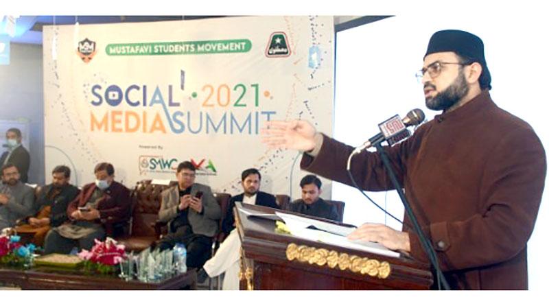 سوشل میڈیا پر نفرت پھیلانے والے فسادی ہیں: ڈاکٹر حسن محی الدین قادری