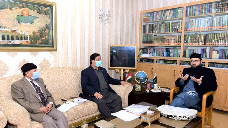 تحریک منہاج القرآن کی قائمہ کمیٹی کا اجلاس