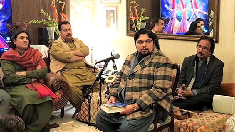 بیرسٹر عامر حسن کی رہائش گاہ پر حلقہ عرفان القرآن میں ڈاکٹر حسین محی الدین قادری کا خطاب