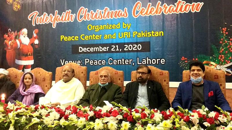ڈائریکٹر انٹرفیتھ ریلشنز منہاج القرآن سہیل احمد رضا کی کرسمس تقریبات میں شرکت