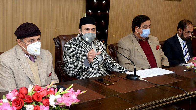 تحریک منہاج القرآن کی مرکزی مجلس عاملہ کا اجلاس