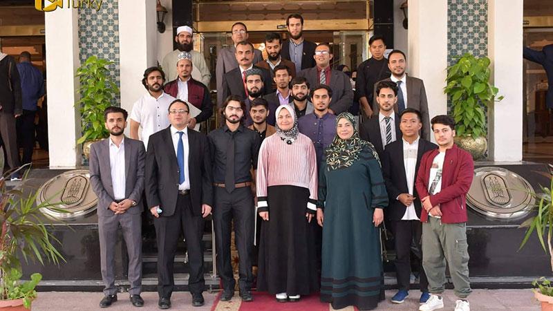 جامعہ الازھر میں منہاجینز طلباء سید بو علی شاہ، منہاج الاسلام اور حافظ فیض احمد کا اعزاز