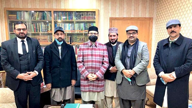 منہاجینز کوآرڈینیشن کونسل کے وفد کی ڈاکٹر حسن محی الدین قادری سے ملاقات